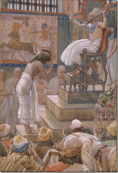Tissot_Joseph_and_His_Brethren_Welcomed_by_Pharaoh