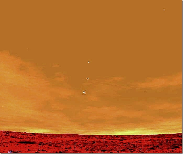 looking at earth from mars - photo #8